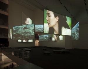Proyectores Christie en exhibición Isaac Julien en Moma