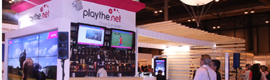 Playthe.net crea un escenario simulado de su solución de digital signage Canal liga en Smart City World Congress 2013