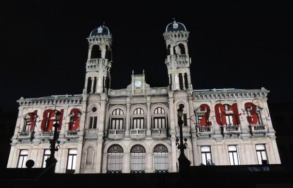 Acciona videomapping bicentenario San Sebastian