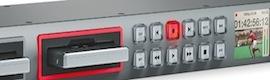 Blackmagic incorpora a HyperDeck 4.1 nuevos formatos para producciones AV exigentes