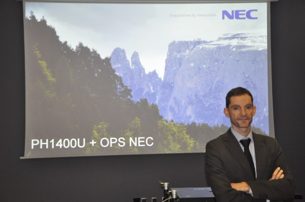 Federico Haba NEC Display
