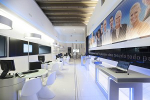 Flagship Telefonica Madrid Zona Autonomos y pymes