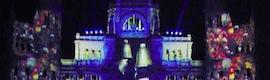 Ibercover, premio a la 'Mejor tecnología de efectos especiales' por el videomapping navideño de Samsung en 2012