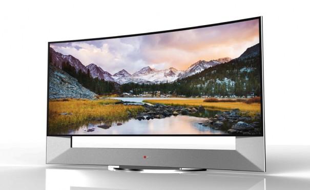 LG TV curvo 105UB9