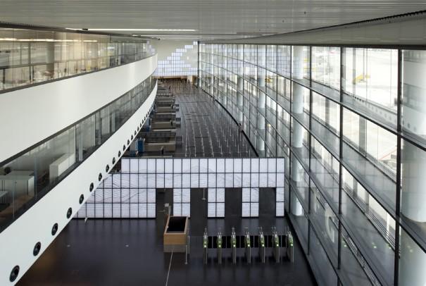 Las tarjetas graficas de PNY en las pantallas del Aeropuerto Viena