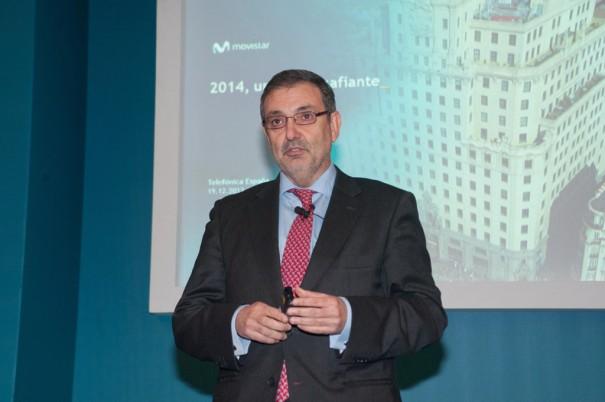 Luis Miguel Gilperez, presidente Telefonica Espana