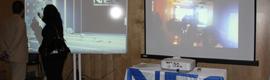 NEC reúne a integradores y mayoristas para mostrar lo más innovador de su catálogo de proyección