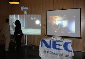 NEC evento proyeccion Madrid 2013
