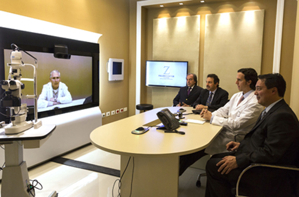 Telepresence from Telefónica and Cisco in the Zaldivar Institute