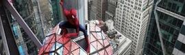 El superhéroe Spider-Man tomará las pantallas de la neoyorquina Times Square para despedir 2013