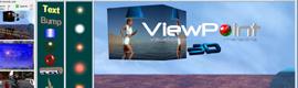 El software de señalización digital ViewPoint 3D ofrece soporte para las pantallas 3D con y sin gafas