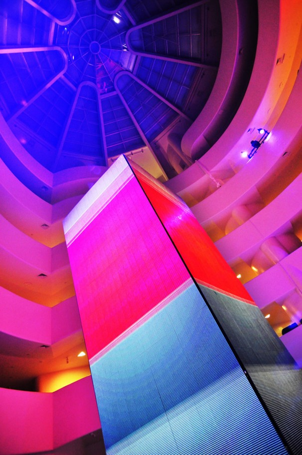 XL Video Richie Hawtin Museo Guggenheim