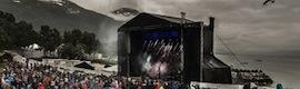 d&b audiotechnik proporciona audio de calidad a los festivales de la noruega Thomsø