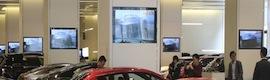Los reproductores de BrightSign gestionan setecientas pantallas del showroom de coches de lujo más grande de China