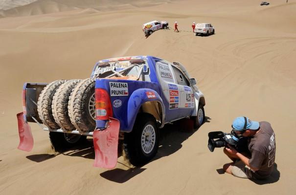 Dakar 2014 television