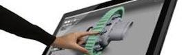 HP muestra a los profesionales de CES 2014 las capacidades táctiles de su workstation Z1 G2