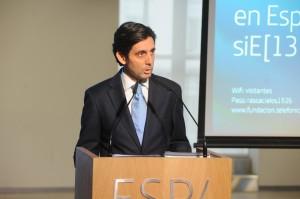 J M Alvarez-Pallete, presentacion informe Telefónica SI 2013