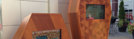Idea Rebel instala dos kioskos interactivos en el centro comercial de Uptown de Canadá para fomentar la sostenibilidad