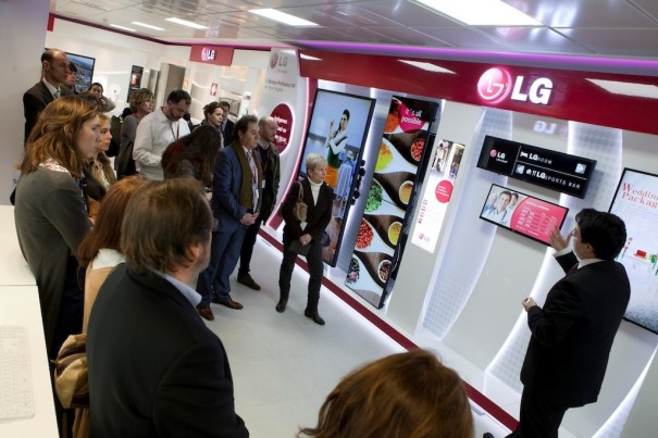 LG Showroom Madrid B2B