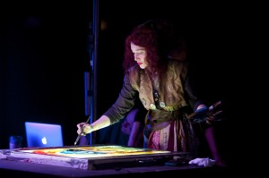 Maria Rud en AniMotion Show Catedra St Giles