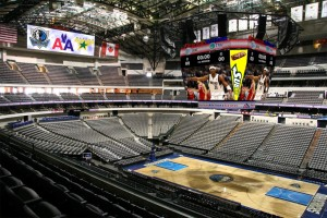 Pantalla Lighthouse en el American Airlines Center