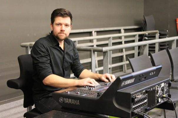 Pim van den Heuvel , ingeniero de sonido De Toneelschuur