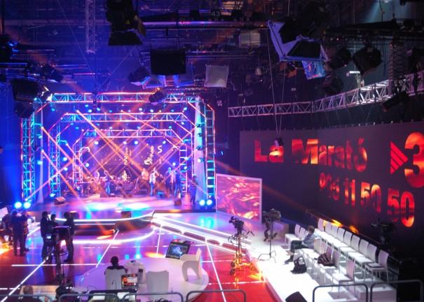Robe y Vari-Lite iluminan La Marato de TV3
