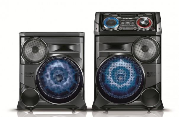 Samsung MX-HS8500 GIGA Sound System CES2014