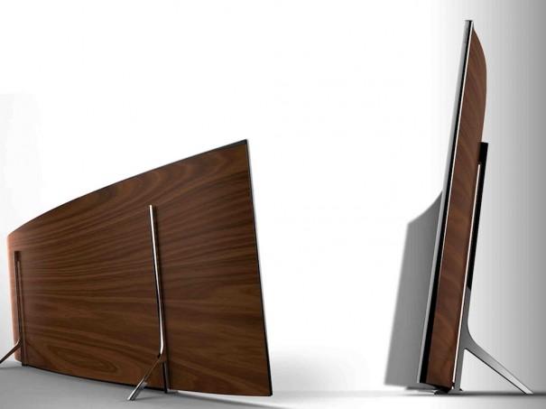 Samsung TV curvo UHD