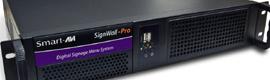 SmartAVI SignWall-Pro: controlador para aplicaciones de señalización digital y videowall totalmente personalizable