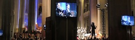 Sono participates with systems AV and of audio in the concert of Christmas in the Holy Family