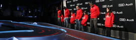 Sono provides audiovisual technology in the ceremony of Audi vehicles FCB players
