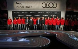 Sono en la entrega vehiculos Audi a jugadores FCB