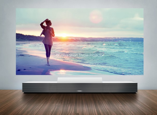Sony 4K Ultra Short Throw Projector