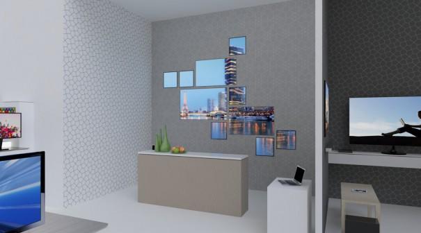 Stand de Samsung en CES 2014 oferta hospitality