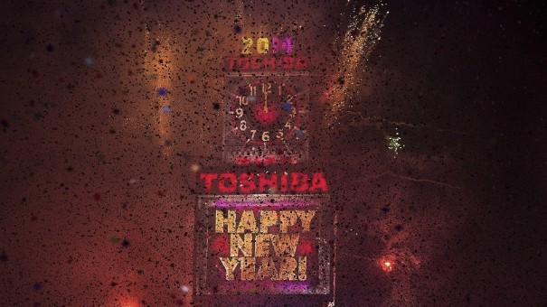 Toshiba Time Square 2014