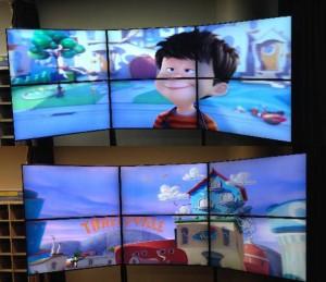 Videowall Dimenco y NGC en Chuo University