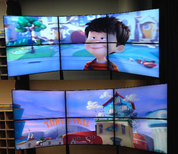 NGC Dimenco Display and lead to a new dimension 3D digital signage