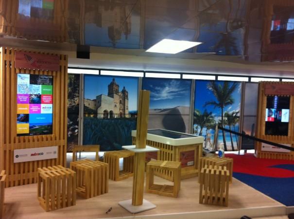 Virtualware crea espacio interactivo aeropuerto Mexico