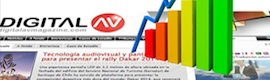 Digital AV incrementa su audiencia en 2013 en un 19,4%