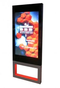 Barco kiosco LCD55ox