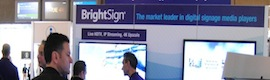 BrightSign advances in ISE 2014 the future of digital signage player with its first 4K