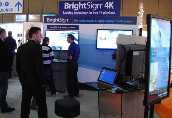 Brightsign en ISE 2014