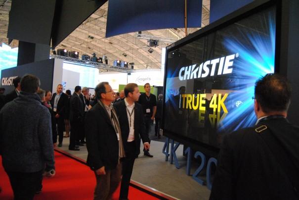 Christie en ISE 2014