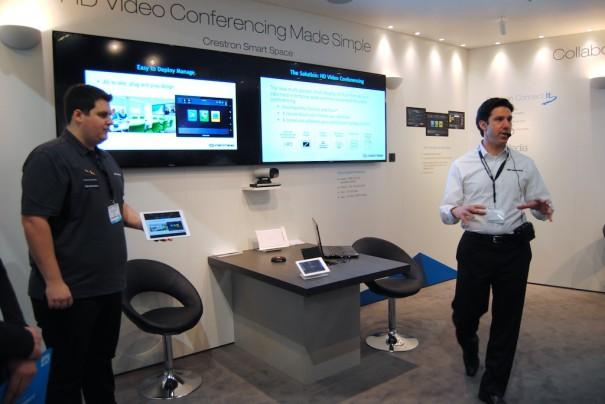 Videoconferencia de Crestron en ISE 2014