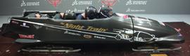 Dassault diseña el trineo del equipo americano que aspira al podio en Sochi 2014