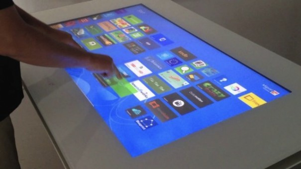 Displax Skin multitouch