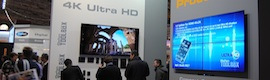 Gefen ISE 2014 professionals explains the advantages of its 4K Extenders with optical fiber