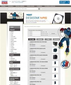 Ingram Micro configurador NAS