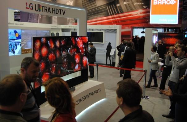 LG Ultra HD en ISE 2014